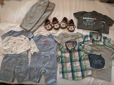 EUC Twin Boy Lot Of  12-18 Month clothes
