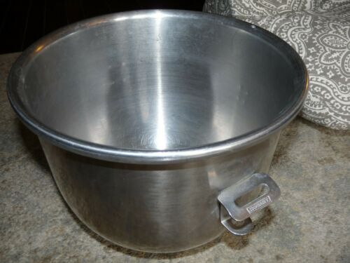 GENUINE OEM HOBART BRANDED A-200 STAINLESS STEEL 20 QUART MIXING BOWL MIXER