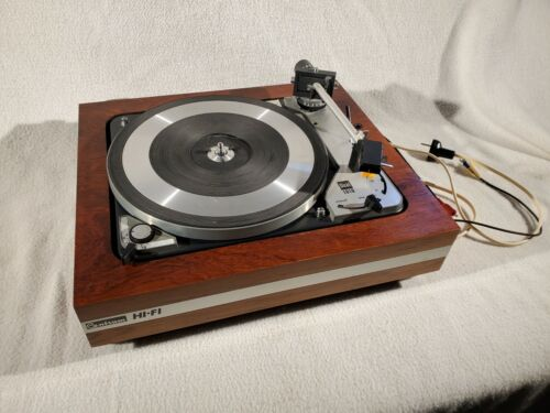 DUAL 1019 TURNTABLE COMPLETELY RESTORED BEAUTIFUL & WORKS PERFECTLY GUARANTEED
