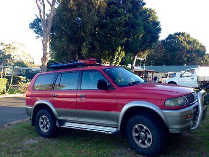 1998 Mitsubishi Challenger Wagon Parramatta Park Cairns City Preview