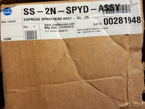 NEW BRADLEY SS-2N-SPYD-ASSY REPLACEMENT FOR EXPRESS SPRAYHEAD ASSSEMBLY