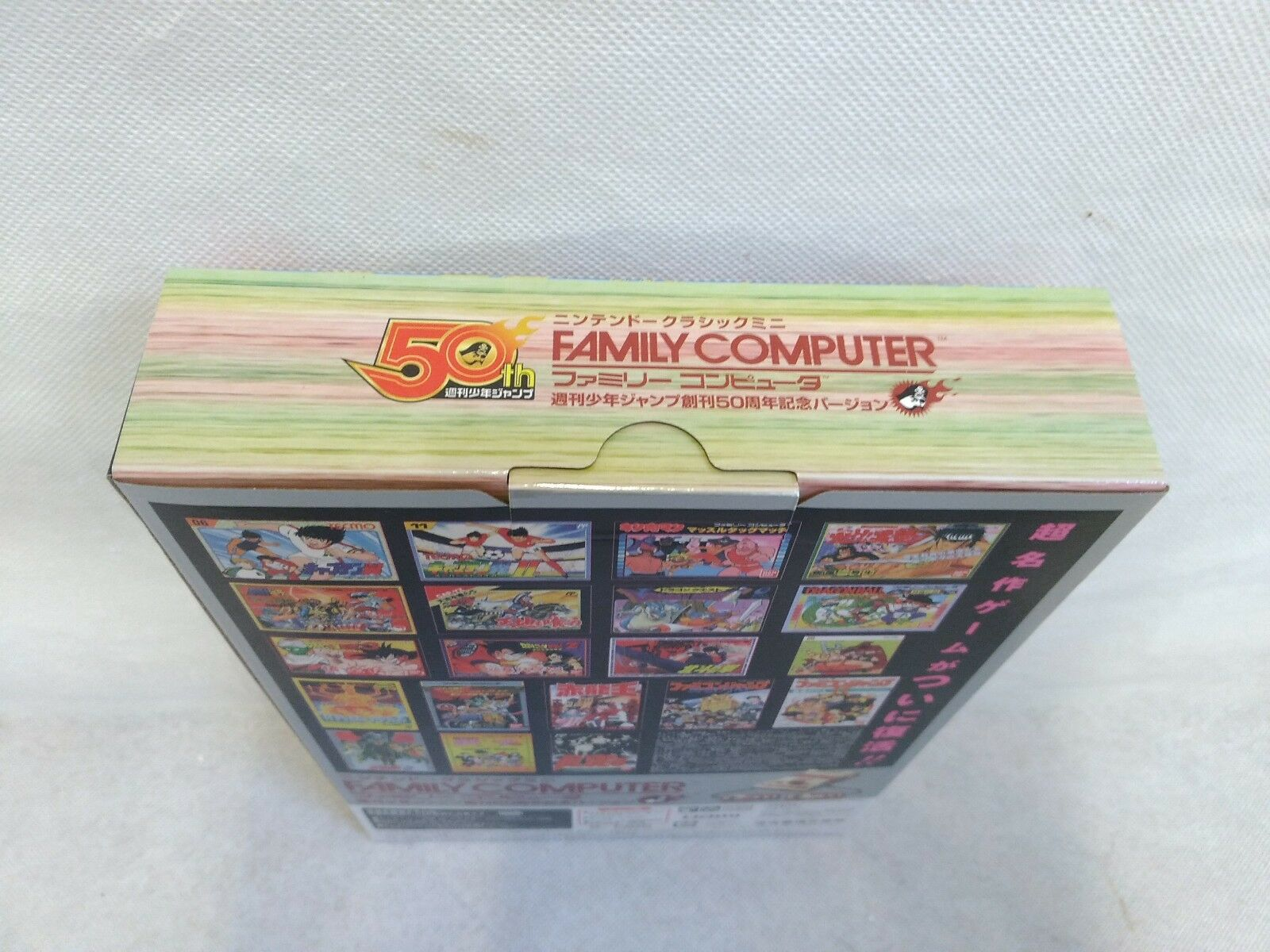 Купить Nintendo Classic Mini Family Computer Shonen Jump 50th Anniversary Version Gold