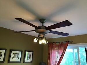 Luminaires plafonnier ventilateur