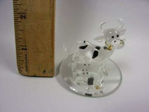GLASS BARON SWAROVSKI HAND-CRAFTED GLASS FIGURINE MODEL # S2513 ELLIE BELL