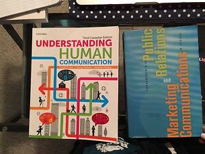 Communication/ Public Relations Textbooks for University