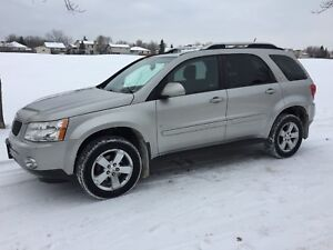 2008 Pontiac Torrent AWD 171 km safetied CLEAN title $6999
