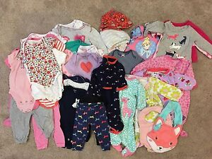 Baby Girl (3M) - 36 pieces!
