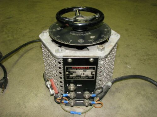 SUPERIOR ELECTRIC 1226-2 Powerstat Variable Autotransformer