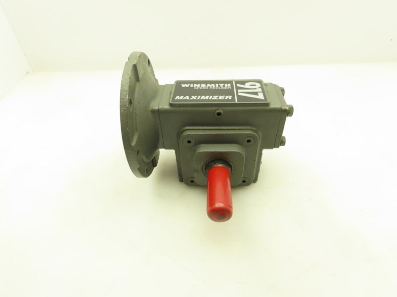 """Winsmith 917MWN Maximizer Speed Reducer Gearbox 60:1 R .31HP 1"""" Dual Output 56C"""