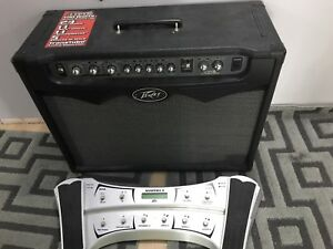 Peavey Vypyr 100 Watts Guitar Amp and Pedal