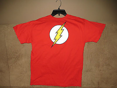 FLASH T-SHIRT / D.C. COMICS ORIGINAL / SIZE M / SHARP!