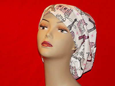 Surgery Cap Scrub Hat  Smaller Bouffant Women Surgical Medical European Handmade Scrub Hat