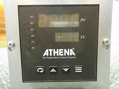 Athena Temperature Control Panel Meter 25c-a-b-0-b-b-0-00-0-ce And Probe
