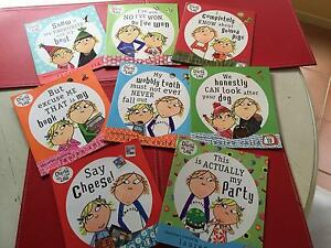 Charlie and Lola 8 Book Set - as new - ideal gift Terrigal Gosford Area Preview