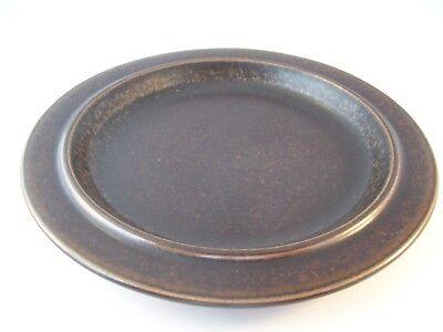 Vintage Arabia Finland Ruska Ulla Procope Pottery Dinner Plate Retired ~ H As-Is