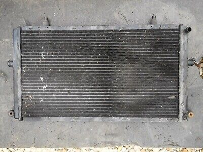 Jaguar XJR supercharger auxiliary Water coolant radiator MNC8200AE