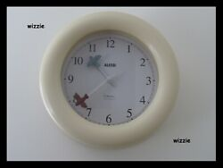 ALESSI : Kitchen Wall Clock by Michael Graves / Ivory / Time Flies