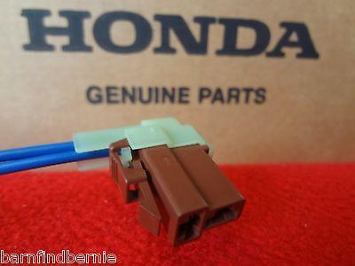 Honda Accord Prelude Front Turn Signal Socket Connector Harness Repair Kit OEM