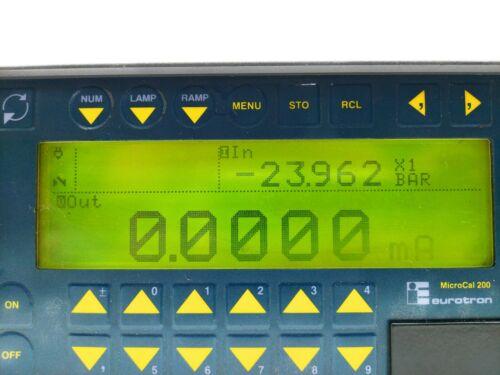 Eurotron Microcal 200 PM200 Multifunction Calibrator IMI-057