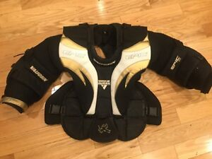 Goalie chest problem protector