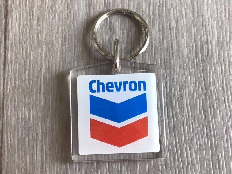 Vintage 1980s Chevron Key Chain