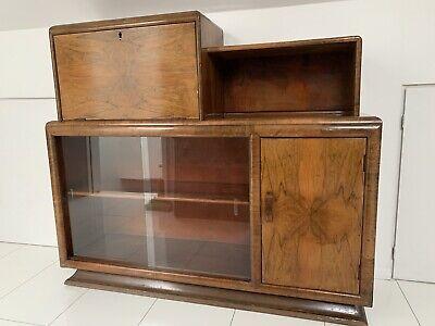 Vintage Display/ Bureau Cabinet