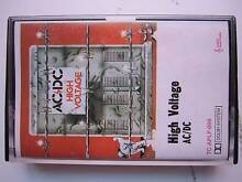 AC/DC High Voltage VERY RARE Australian Cassette Tape Kingsley Joondalup Area Preview