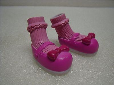LALALOOPSY Crumbs Sugar Cookie Doll MARY JANE Pink Shoes w/ RUFFLED - Lalaloopsy Crumbs Sugar Cookie Doll