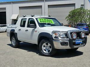 2010 Mazda BT-50 UNY0E4 DX+ Freestyle White 5 Speed Manual Cab Chassis Mayfield East Newcastle Area Preview