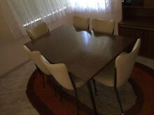 6 seater table and chairs West Tamworth Tamworth City Preview