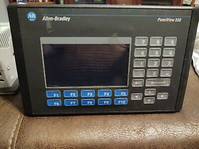 Allen Bradley 2711-b5a8l1 Series H Panelview 550 Used Excellent Condition.