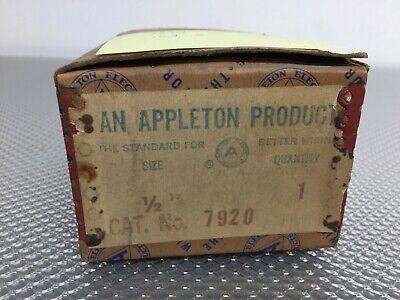 Appleton 7920 Fsaa 12 Unilet Box