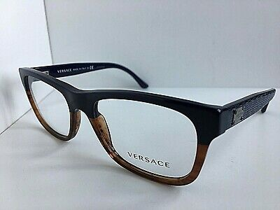 New Versace Mod. 9931 1851 Ambre 53mm Men's Eyeglasses Frames Italy
