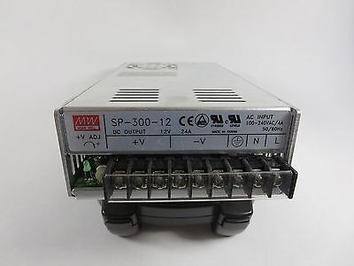 Meanwell Sp-300-12 Dc Power Supply Out12 Vdc24 Amps In 100-240 Vac 5060 Hz