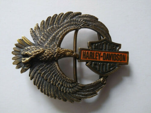 Harley Davidson Belt Buckle  1992 -  Made in USA Brand New