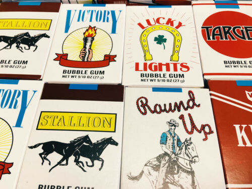 Bubble Gum Cigarettes Candy They Blow Smoke 12 Packs SUPER SAVER FREE SHIPPING