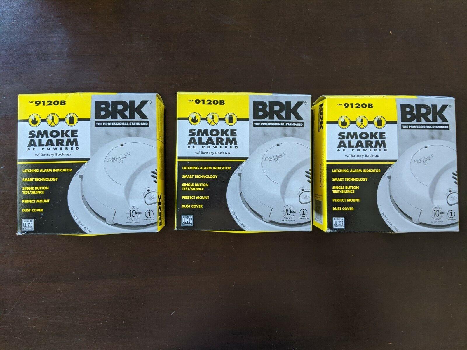 BRK BRANDS/FIRST ALERT 9120B 120V Smoke/Fire Alarm