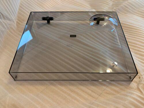 NEW Technics SL-1200 OEM Tinted Dust Cover w/ Hinges