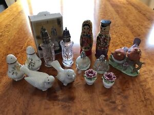 Collection of Vintage Salt & Peppers Shakers