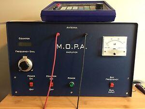 GB-4000 RF Frequency Generator & M.O.P.A. Amplifier