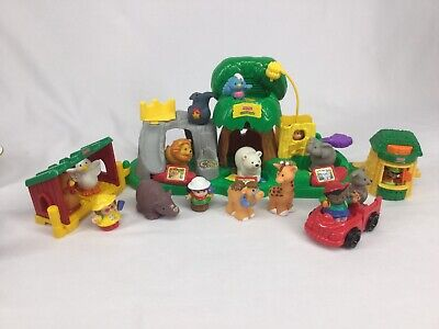 Fisher Price Zoo Little People Sound Zoo Plus Extra People & Animals Elephant +