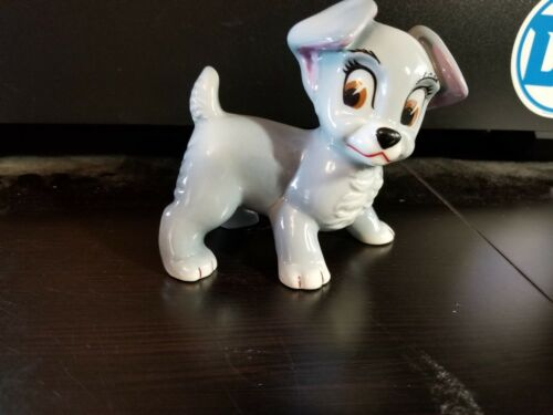 Wade England 1950 Disney Large Blow Up Figurine Lady and the Tramp - Scamp