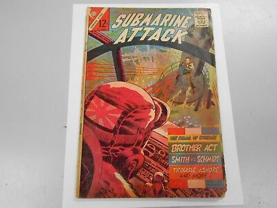 Submarine Attack #52 ( October 1965 Charlton) FR/GD 1.5 Silver Age War Comic