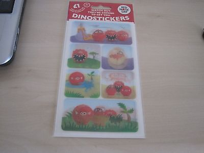 Red nose day dinostickers