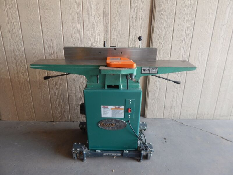 """GRIZZLY INDUSTRIAL G1182Z 6"""" JOINTER (#3384)"""