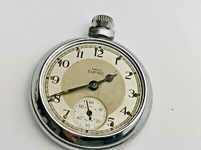Smiths Empire Pocket Watch for Repair / Restoration, Vintage Pocket Watch