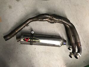 Akrapovic full exhaust  gsxr 1000 2006