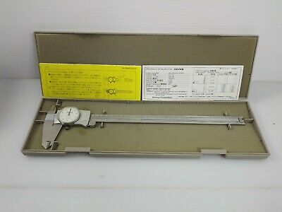 Mitutoyo 12 Inch Dial Caliper No. 085-779-01 With Case And Manuals