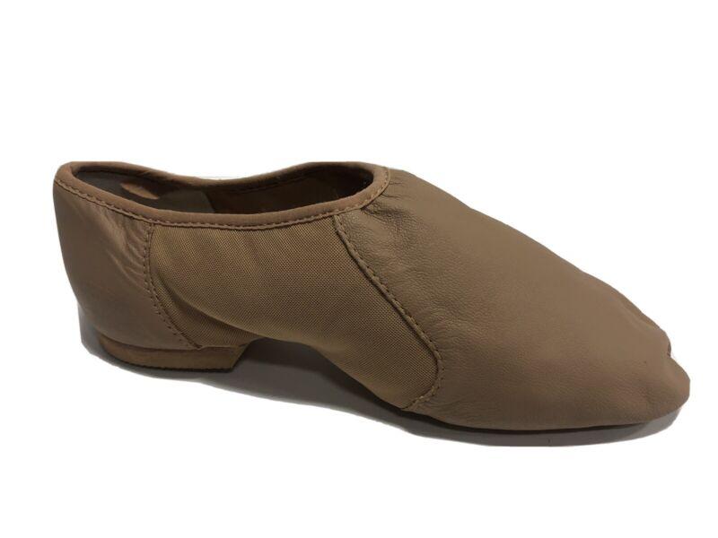 Bloch, Neo-Flex Jazz Tan Dance Shoes Women's Size 7M