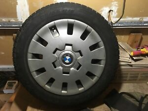 4 Pirelli winter tires with rims